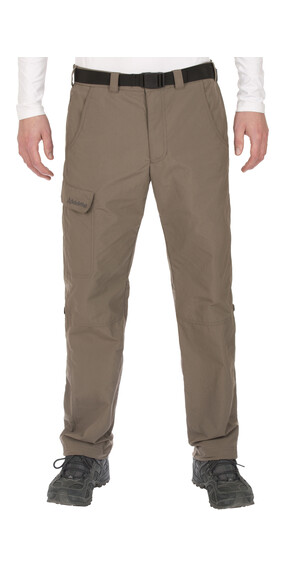 Schöffel Outdoor II NOS - Pantalones de Trekking Hombre - regular marrón